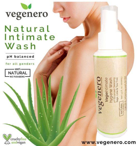 Vegan Intimate Hygiene Feminine Wash Spray VegeIntimate