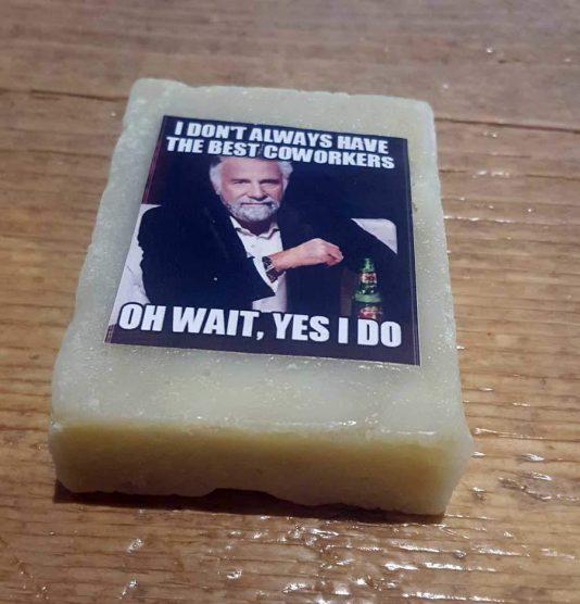Custom Photo Soap