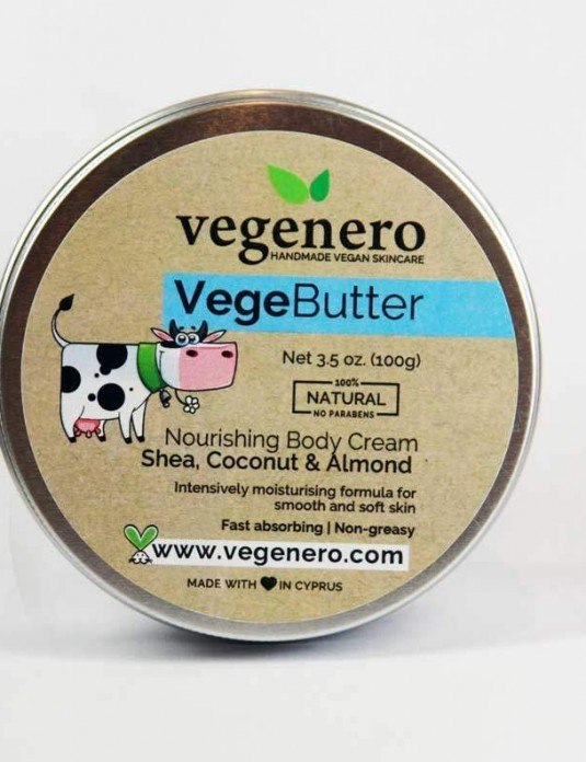 Vegan Natural Shea Butter Body Cream VegeButter
