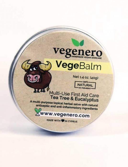 VegeBalm Vegan Natural First Aid Care Salve
