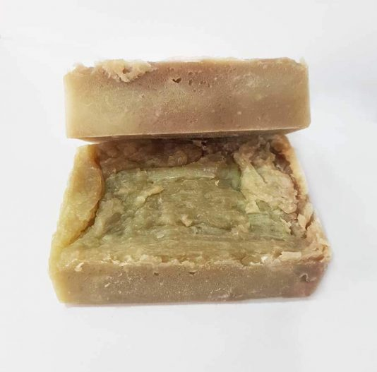 Natural Strawberry Vegan Soap