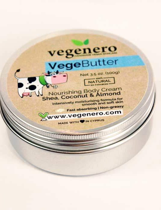 VegeButter Vegan Natural Body Cream
