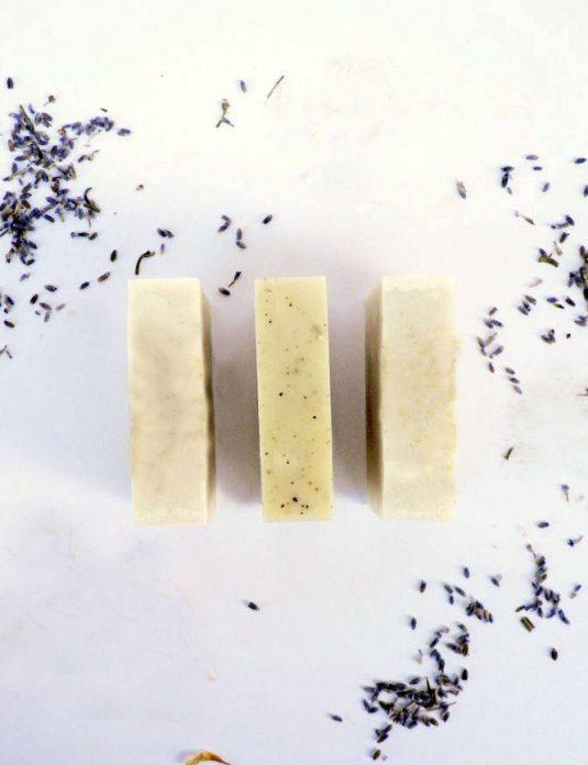 Vegan Natural Lavender Soap Bar Cyprus