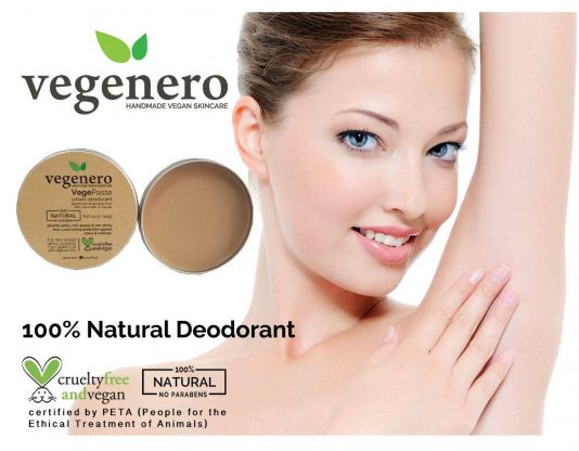 VegePaste Natural Vegan Deodorant