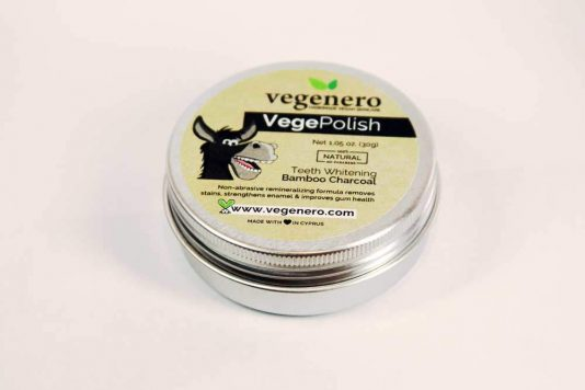 VegePolish Vegan Black Charcoal Teeth Whitening