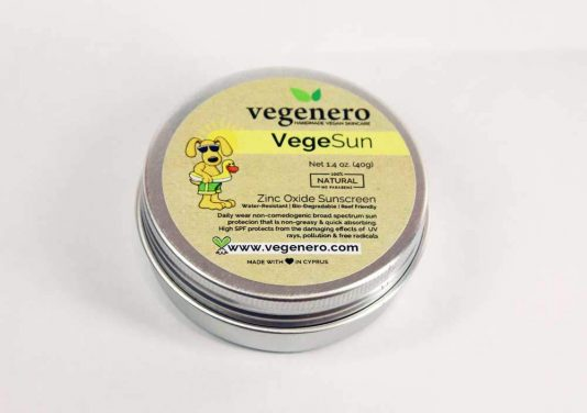 VegeSun Vegan Natural Sun Cream