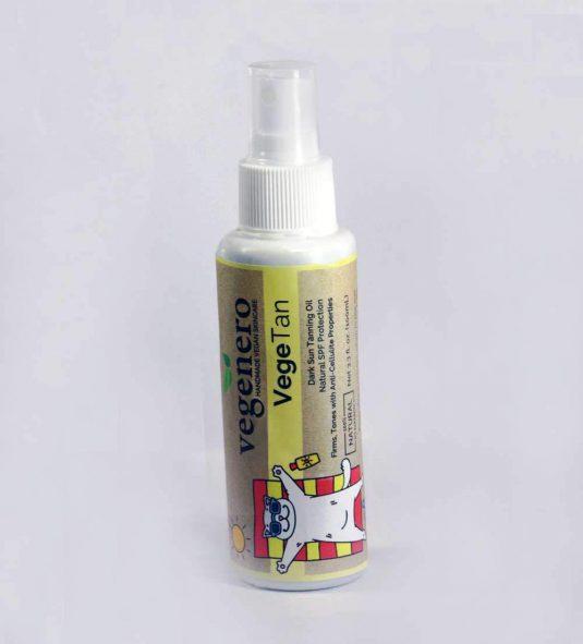 VegeTan Dark Tanning Sun Oil Anti-Cellulite Firming Tanning