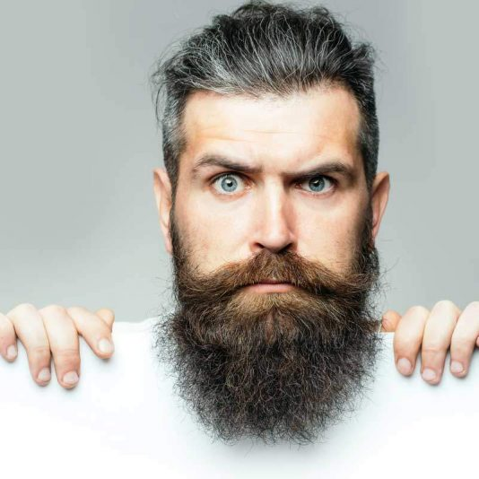 Men Vegan Hair and Beard Oil VegeTame