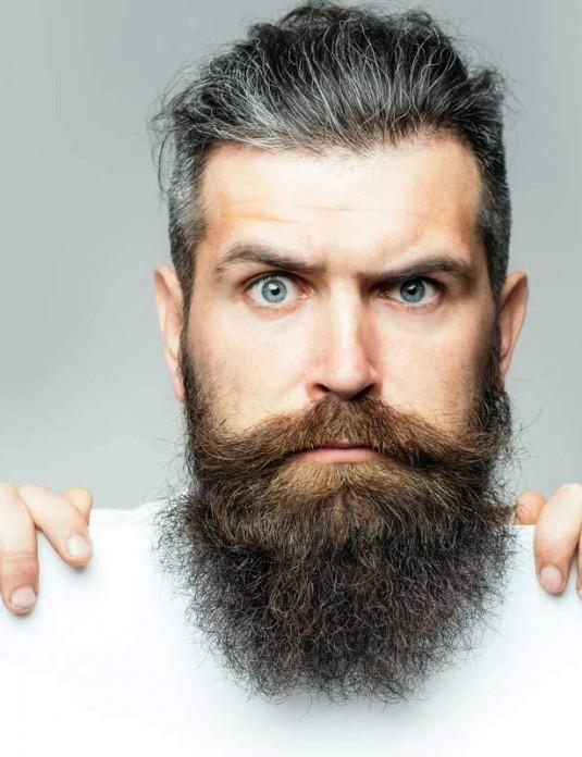 Men Vegan Hair and Beard Oil VegeTame