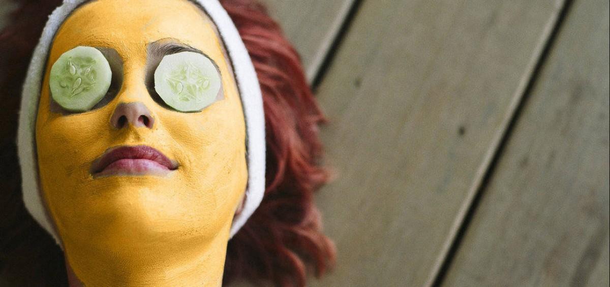 Vegan Turmeric Face Mask